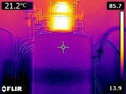 Termovizní měření v energetice IČ kamerou
